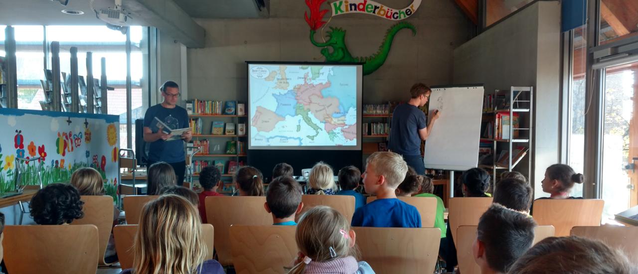 Ausflug zur Autorenlesung in Echterdingen