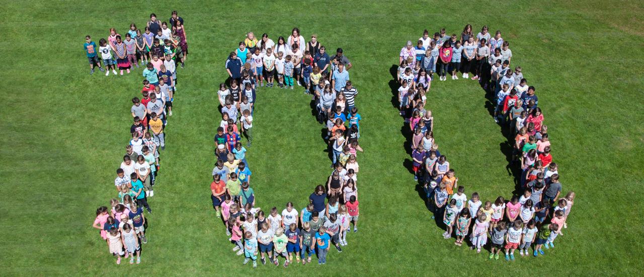 Zusammen 100 – Unser Schuljubiläum